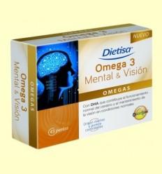 Omega 3 Mental i Visió - Dietisa - 45 perles