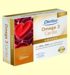 Omega 3 Cardio - Dietisa - 45 perles