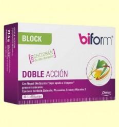 Biform Block Doble Acció - Control de Pes - Biform - 30 càpsules