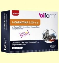 L-Carnitina 2000 mg - Biform - 14 vials