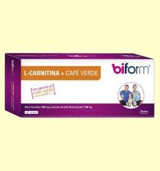 L-Carnitina + Cafè Verd - Biform - 14 vials