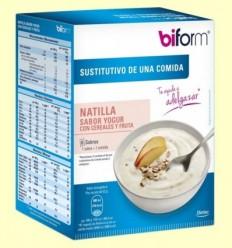 Crema Iogurt amb Cereals i Fruita - Biform - 6 sobres