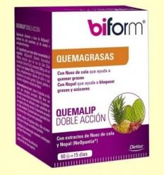 Quemalip Doble Acció - Biform - 60 càpsules