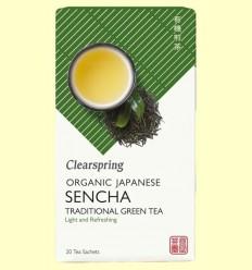Te Verd Sencha - Clearspring - 20 filtres