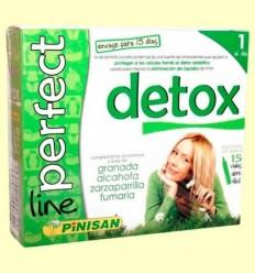 Detox Perfect Line - Eliminació de líquids - Pinisan - 15 vials
