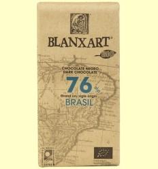 Xocolata Negre Brasil 76% Bio - Blanxart - 125 grams
