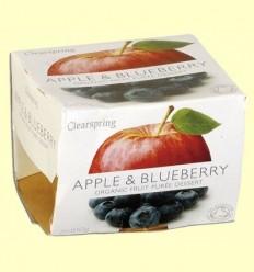 Puré de Fruites Orgàniques - Poma i Nabiu - Clearspring - 2 x 100 grams