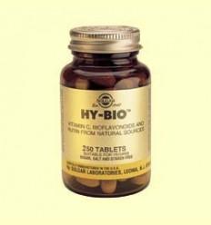 Hy-Bio 500 mg Vitamina C - Solgar - 250 comprimits