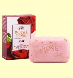 Sabó en Pastilla amb Oli de Rosa de Bulgària i Argan - Biofresh Royal Rose - 100 grams