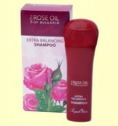 Xampú Equilibrant amb Oli de Rosa de Bulgària - Biofresh Regina Floris - 230 ml