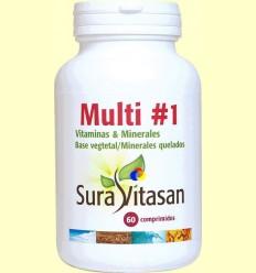 Multi Vitamines i Minerals - Sura Vitasan - 60 comprimits