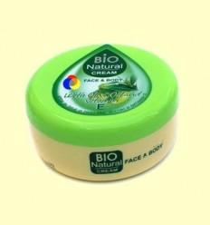 Crema Hidratant Cara i Cos amb Oli d'Oliva i Vitamina E - Biofresh - 250 ml