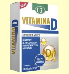 vitamina D - Laboratorios Esi - 30 microtabletas