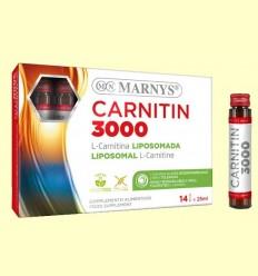Carnitina 3000 - L-Carnitina líquida - Marnys - 14 vials
