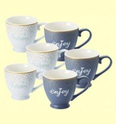 Tasses de Porcellana Nika - Cha Cult - 6 unitats
