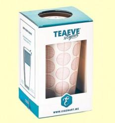 Tassa Infusora Tisanera de Porcellana Leaf - Cha Cult - 350 ml