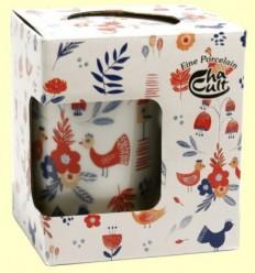 Tassa Infusora Tisanera de Porcellana Wenke - Cha Cult - 250 ml