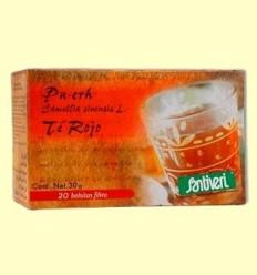 Pu Erh - Te Vermell - Santiveri - 20 bossetes
