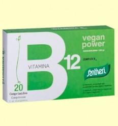 Vitamines Complex B12 - Santiveri - 20 comprimits