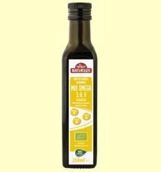 Oli Mix Omega 3 6 9 Bio - Natursoy - 250 ml