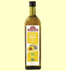Oli de Gira-sol Bio - Natursoy - 1 litre