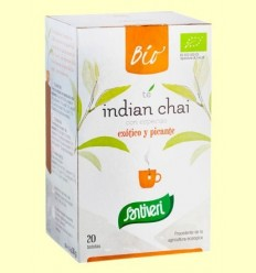 Infusion de Te Indian Chai Bio - Santiveri - 20 bossetes
