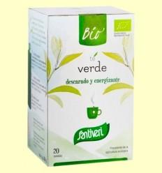 Infusió de Te Verd Bio - Santiveri - 20 Bossetes