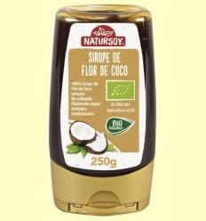 Xarop de Flor de Coco Bio - Natursoy - 250 grams