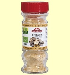 Bolets Shiitake Deshidratades en pols - Natursoy - 10 grams