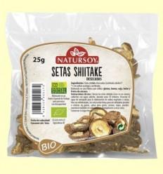 Bolets Shiitake Deshidratades - Natursoy - 25 grams