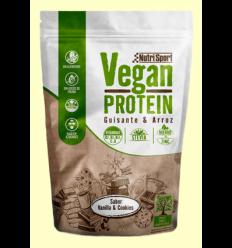 Vegan Protein Pèsol i Arròs sabor Vainilla Galetes - NutriSport - 520 grams
