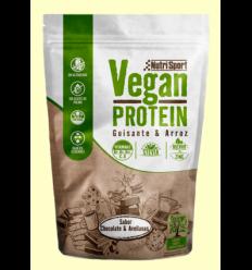 Vegan Protein Pèsol i Arròs Sabor Xocolata Avellana - NutriSport - 520 grams