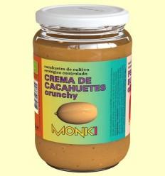 Crema de Cacauets Cruixent Bio - Monki - 650 grams
