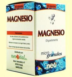 Magnesi - Oligoelements - NEO - 50 càpsules