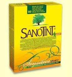 Tint Sensitive Rubio Clar Natural 80 - Sanotint - 125 ml