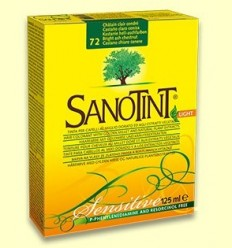 Tint Sensitive Castaño clar Cendra 72 - Sanotint - 125 ml
