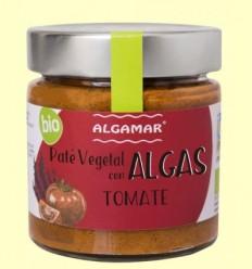 Paté vegetal amb Algues - Tomàquet - Algamar - 180 grams