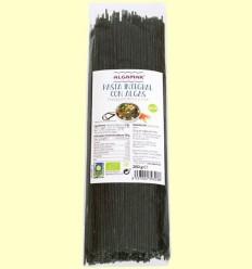 Pasta integral amb Algues - Espagueti - Algamar - 250 grams