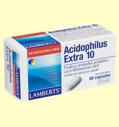Acidophilus Extra 10 - Lamberts - 60 càpsules