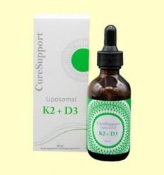 Liposomal K2 + D3 - Curesupport - 60 ml
