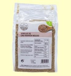 Llavors de Lli Marró Mòlt - Int -Salim - 175 grams