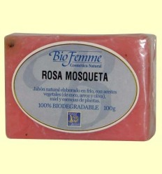 Sabó de rosa mosqueta - Bio Femme - Ynsadiet - 100 grams