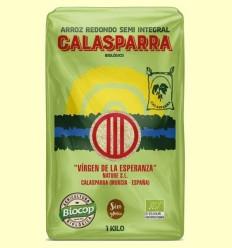 Arròs Semi Integral Calasparra Bio - Biocop - 1kg