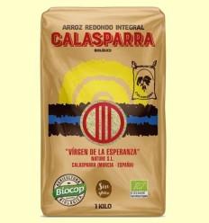 Arròs Integral Calasparra Bio - Biocop - 1kg