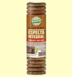 Galetes de Blat d'Espelta Xocolata i Avellanes Bio - Biocop - 250 grams