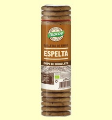 Galetes de Blat d'Espelta Xips Xocolata Bio - Biocop - 250 grams