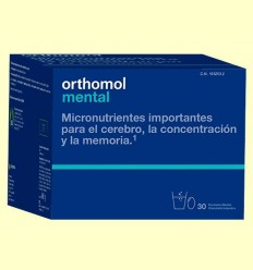Orthomol Mental - Laboratorio Cobas - 30 sobres
