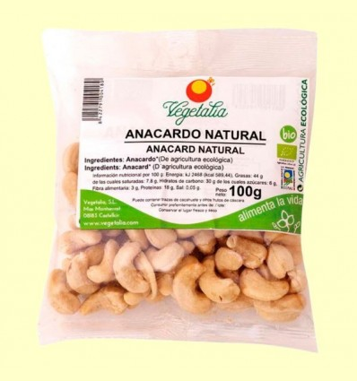 anacards Bio - Vegetalia - 100 grams