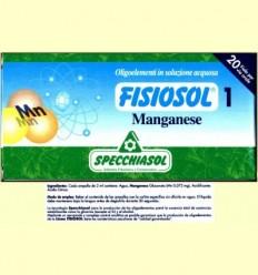 Fisiosol 1 Manganès - Specchiasol - 20 ampolles