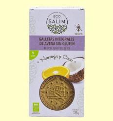 Galetes de Civada amb Taronja i Coco Bio - Eco -Salim - 135 grams